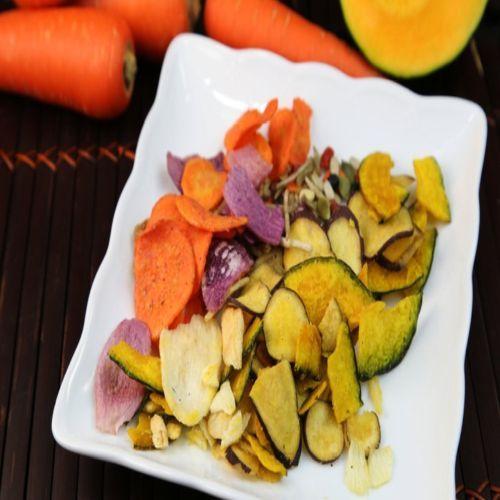 boll de chips con verduras
