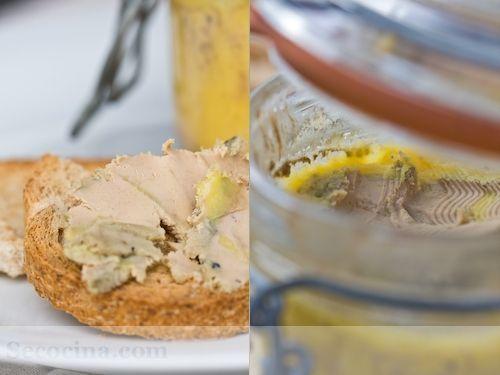 Foie gras en tarro