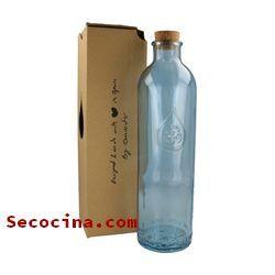 botellas con pajita