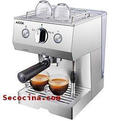 ⬆️ Guía para elegir la más recomendada cafetera de acero