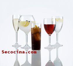 copas de vidrio baratas