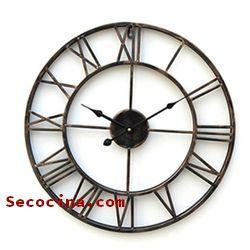relojes de cocina de madera baratos