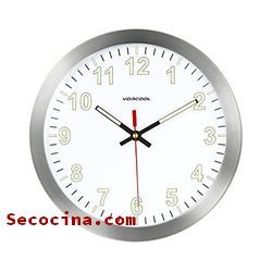 relojes de cocina de punto de cruz baratos