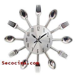 relojes de cocina vintage baratos