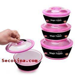 tuppers para microondas baratos