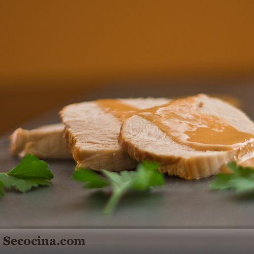 Pavo con salsa al pimentón