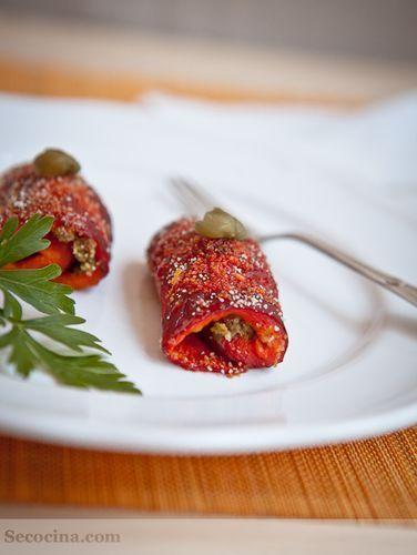 Peperoni arrotolati (pimientos enrollados)