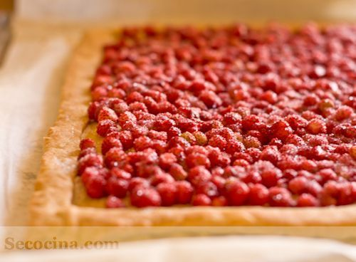 Hojaldre de fresas silvestres